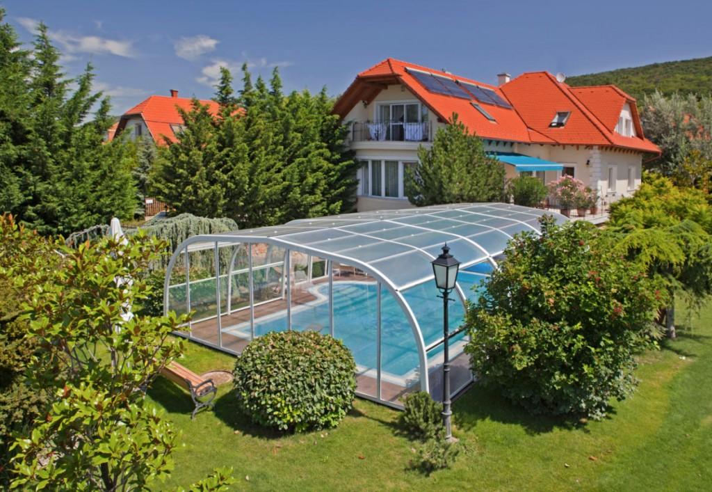 Galaxy Freestanding Pool Enclosure Design White