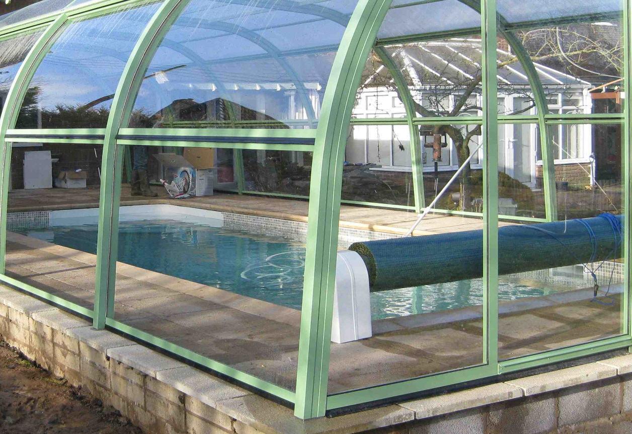Galaxy-Pool-Enclosure-Light-Green-Colour